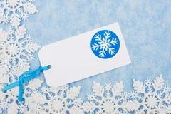Snowflake Border Royalty Free Stock Images