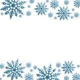 Snowflake Border Stock Photos