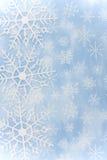 Snowflake Border royalty free stock photos