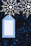 Snowflake Border Royalty Free Stock Photo
