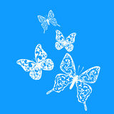 snowflake butterfly stock photos