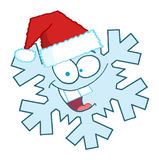 Snowflake character Stock Photo