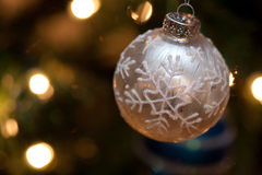 Snowflake Christmas Stock Photo