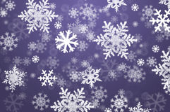 Snowflake Christmas Abstract Background Royalty Free Stock Photo