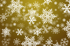 Snowflake christmas abstract background Royalty Free Stock Image