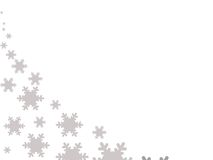Snowflake christmas background Royalty Free Stock Photography
