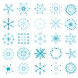 Snowflake - christmas background Royalty Free Stock Photo