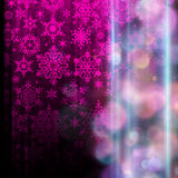 Snowflake Christmas background. EPS 10. Beautiful abstract snowflake Christmas background. EPS 10 vector file included Royalty Free Stock Photography