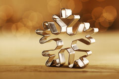 Snowflake Christmas background Royalty Free Stock Image