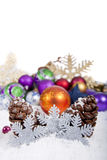 Snowflake Christmas Decoration Royalty Free Stock Photos