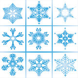 Snowflake for Christmas and new year decorate Stock Photography