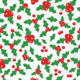 Snowflake christmas and new year seamless pattern Stock Images