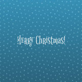 Snowflake Christmas Pattern on blue Ice Background Stock Photos