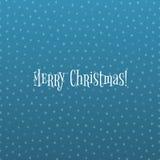 Snowflake Christmas Pattern on blue Ice Background Stock Photos