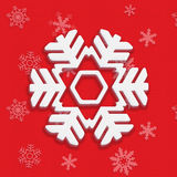 Snowflake Christmas Royalty Free Stock Photo