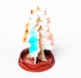 Snowflake Christmas Tree Stock Images