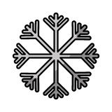 Snowflake climate sign icon Royalty Free Stock Photography
