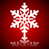 Snowflake close up Royalty Free Stock Photography