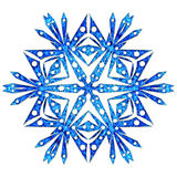 Snowflake close up Royalty Free Stock Photo