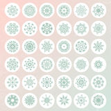 Snowflake Collection Royalty Free Stock Photo