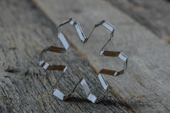 Snowflake Cookie Cutter Stock Image