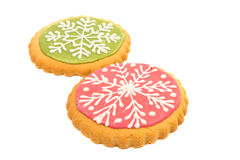 snowflake cookie Stock Photos