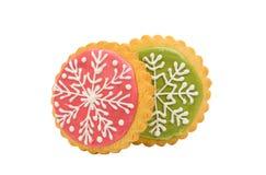 snowflake cookie Stock Photos