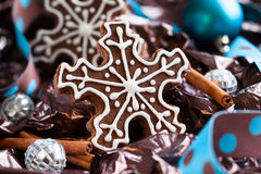 Snowflake Cookies Stock Photos