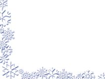 Snowflake Corner Royalty Free Stock Images