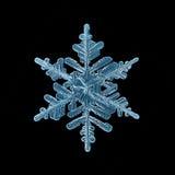 Snowflake crystal Royalty Free Stock Photography