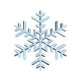 Snowflake 3D Royalty Free Stock Photo