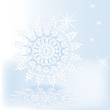 Snowflake dance Royalty Free Stock Photography