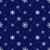 Snowflake dark blue background tint layer Stock Photo