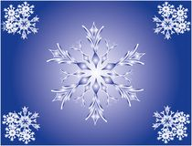 Snowflake. Decor. Vector. Stock Photo