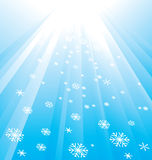 Snowflake Decoration. Christmas and New Year's background Stock Photo