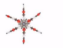 Snowflake decoration Royalty Free Stock Photos