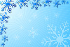 Snowflake Decoration Royalty Free Stock Images