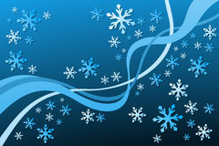 Snowflake Decoration. Vector illustration of Snowflake Decoration Royalty Free Stock Photos