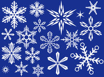 Snowflake for design Royalty Free Stock Image