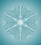 Snowflake design element Royalty Free Stock Images