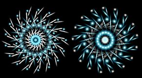 Snowflake designs Stock Image