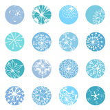 Snowflake designs Stock Photo