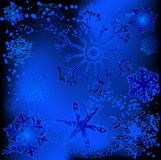 Snowflake designs Royalty Free Stock Images