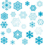 Snowflake designs Royalty Free Stock Photos