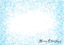Snowflake dust Stock Image