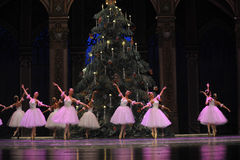 The snowflake Fairy- The second act second field candy Kingdom -The Ballet  Nutcracker Royalty Free Stock Photography