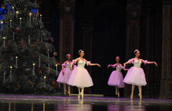 The snowflake Fairy- The second act second field candy Kingdom -The Ballet  Nutcracker Stock Photo