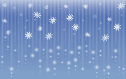 Snowflake fall abstract background Stock Photo