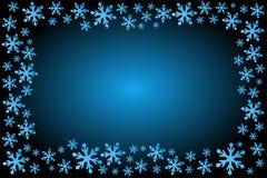 Snowflake Frame. Vector illustration of Snowflake Frame Stock Images