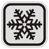 Snowflake, frame Stock Images